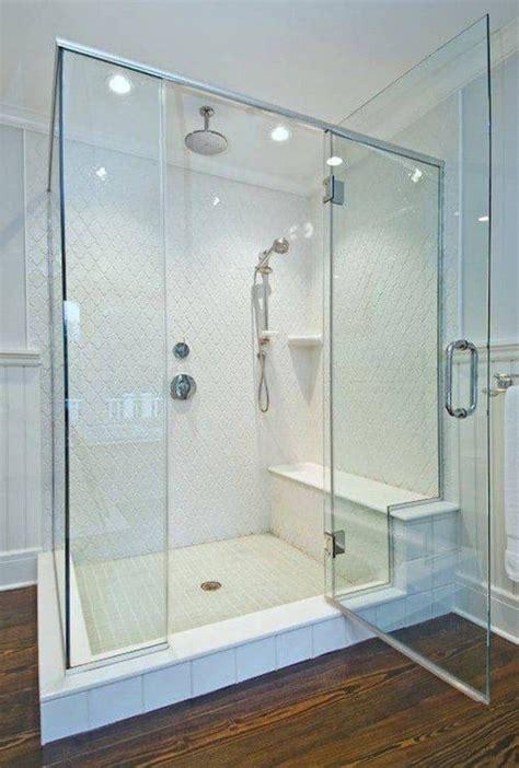 walk  bathroom shower  seat wearefound home design