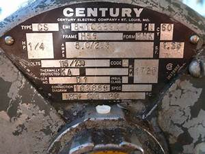 Photo Index - Century Electric Co