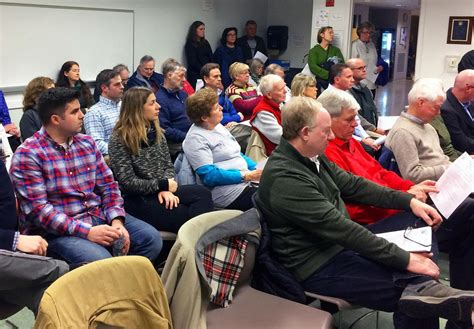 Big Show Of Support For Rail Trail Extension  Bourne News
