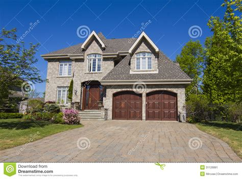 New Executive Homes Photo by Big House Stock Image Image 31126891