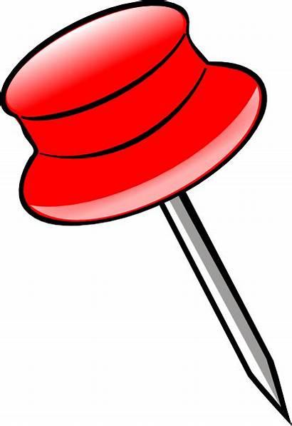 Clipart Clip Cartoon Paper Push Cliparts Pins