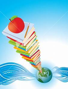 Earth And Open Book - Geography Knowledge Concept - Office ...