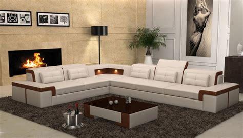 New Design Sofa Corner Sofa With Led Light Sofa-in Living