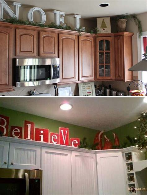 how to decorate the top of your kitchen cabinets 20 stylish and budget friendly ways to decorate above