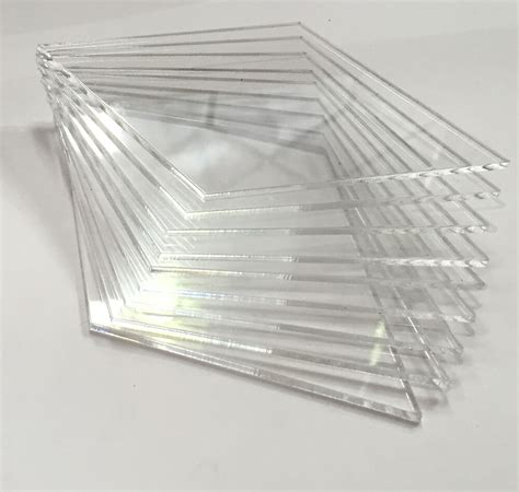 clear perspex acrylic sheet cut to size panels plexiglass