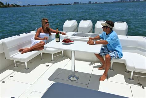 Center Console Boats With Lots Of Seating by Seavee Boats