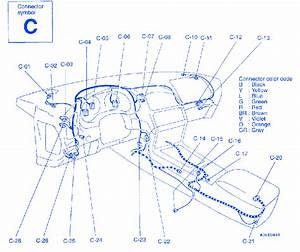 Dodge Avenger 2000 Center Under The Dash Electrical Circuit Wiring Diagram