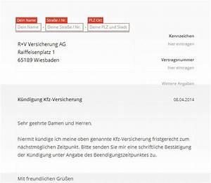 Rechnung Bei Versicherung Einreichen Vorlage : r v kfz versicherung k ndigung vorlage download chip ~ Themetempest.com Abrechnung