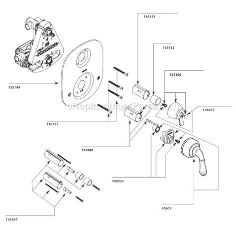 Moen Parts List Diagram Ereplacementparts