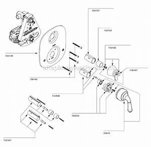 Moen T4110 Parts List And Diagram   Ereplacementparts Com