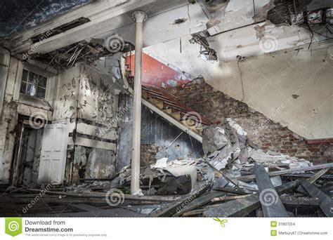 demolished room stock images image