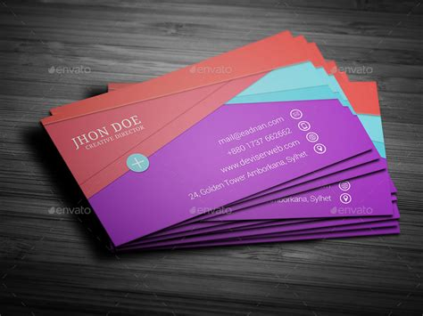 google search business card template