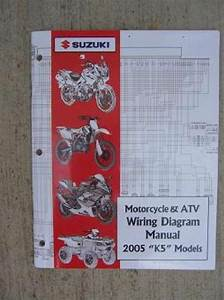 2005 Suzuki Motorcycle Atv Wiring Diagram Manual K5 Model