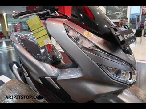 Pcx 2018 Warna Silver by Bertemu Honda Pcx 150 2019 Warna Silver