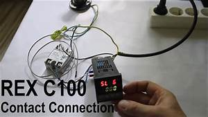 Pid Rex C100 Temperature Controller Contact Connection