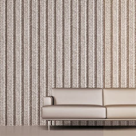 koziel knitting grey tryko wallpaper wallcovering