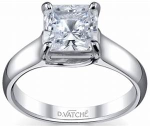 vatche engagement rings x prong princess diamond With wedding rings 101