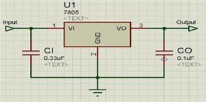 5  Circuit Diagram Lm 7805 Voltage Regulator