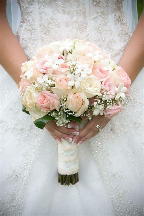 light pink rose bridal bouquets kvetinova svatba