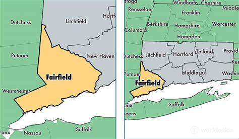Associates Connecticut Fairfield County Fairfield County Connecticut Map Of Fairfield County