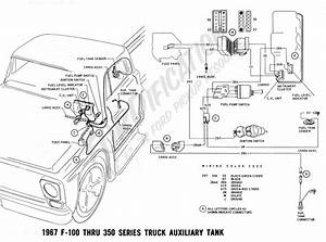 1967 Ford F 10thru F 75truck Wiring Diagram Manual Reprint