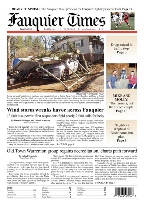 Fauquier Times March 7 2018 by Fauquier Times Issuu