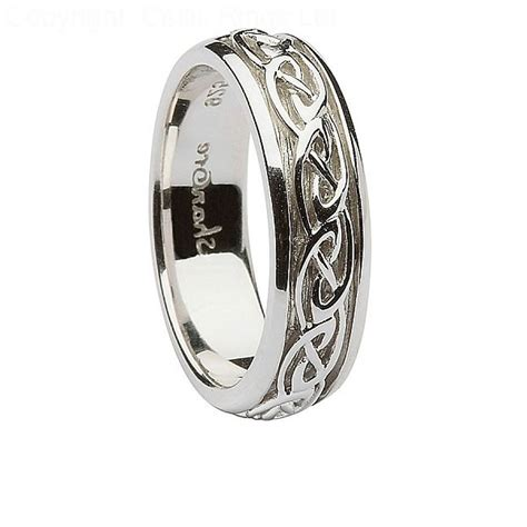women s silver celtic knot ring