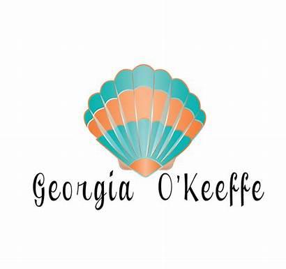 Pieces Georgia Identity Keeffe Behance Rough Digital