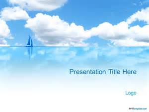 Beach PPT Template Free