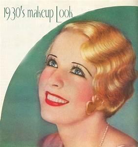 1930s | 1930s makeup, 1930s and Makeup