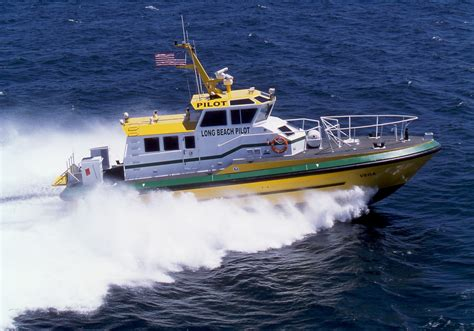 On Boats by Custom Pilotboats And Manufacturer Of Heavy Duty Aluminum