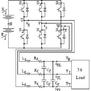 pdf a three phase ac power source using robust model