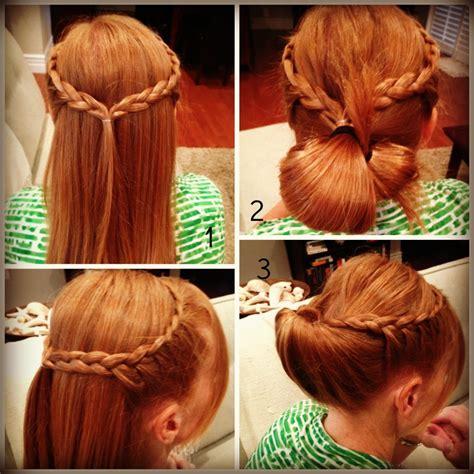 sea shell bun twist quick easy hairstyles fashion