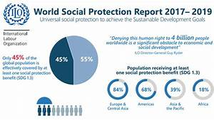 Graphs Infographic For The World Social Protection Report