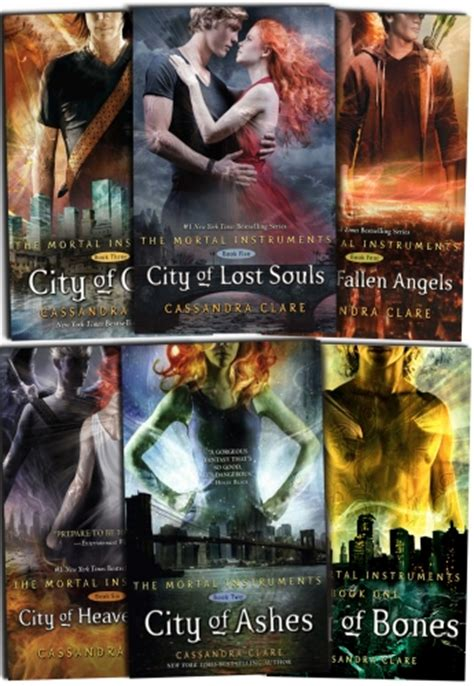 cassandra clare set  books collection mortal instruments