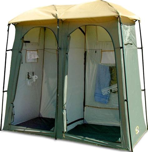 Outdoor Connection Double Toilet Shower Tent  Snowys Outdoors
