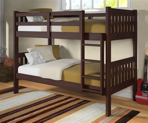 Donco Loft Bed by Donco Trading Mission Bunk Bed 1010 3cp For Bedroom