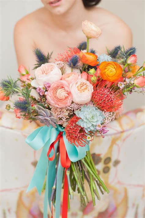 Colorful Whimsical Outdoor Wedding