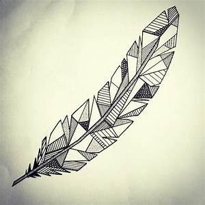 Dessin De Plume Facile : tatouages g om triques belle id e ou tendance qui va s 39 vaporer ~ Melissatoandfro.com Idées de Décoration