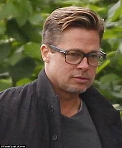 Brad Pitt FINALLY debuts his new look after getting a ...