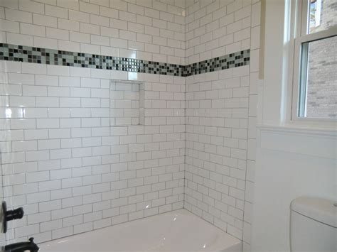 subway tile bathroom designs guest bath tub with subway tile surround vision pointe homes