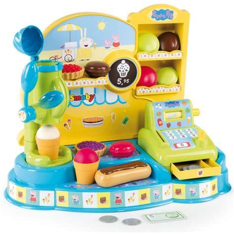 jeux de peppa pig cuisine marchande de glaces peppa pig jeux et jouets smoby