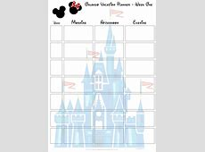 Disney World Printable Calendar Planner Calendar