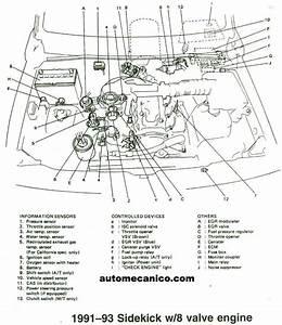 Suzuki - Ubicacion De Sensores Y Componentes