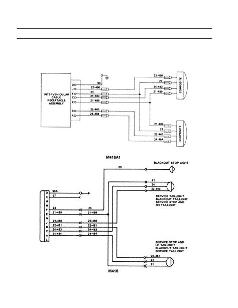 cargo trailer wire circuit diagram maker