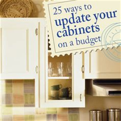 updating kitchen cabinets on a budget diy makeover old kitchen ideas diy on pinterest kitchen cabinets