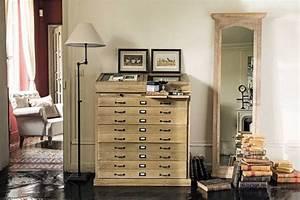Cabinet Maison Du Monde : cabinet semainier multi tiroirs naturaliste soldes cabinet maisons du monde ~ Teatrodelosmanantiales.com Idées de Décoration