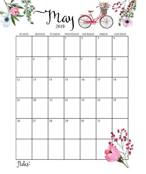 cute calendar 2019 monthly calendar calendar 2019