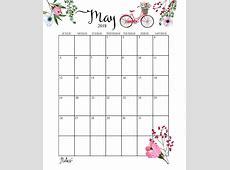 Cute 2019 Calendar