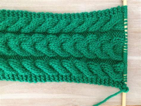 tricot echarpe torsade facile altoservices